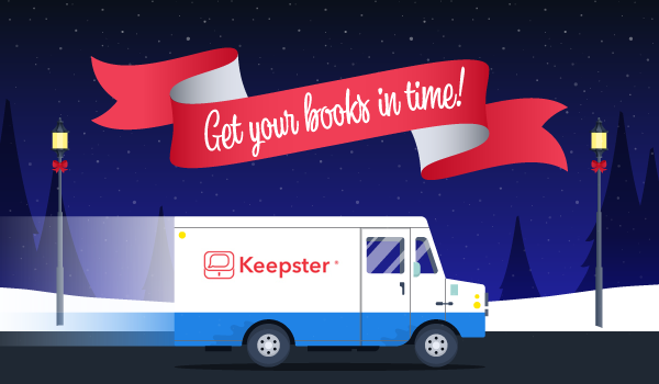 keepster delivery truck - order 2-3 weeks prior date needed