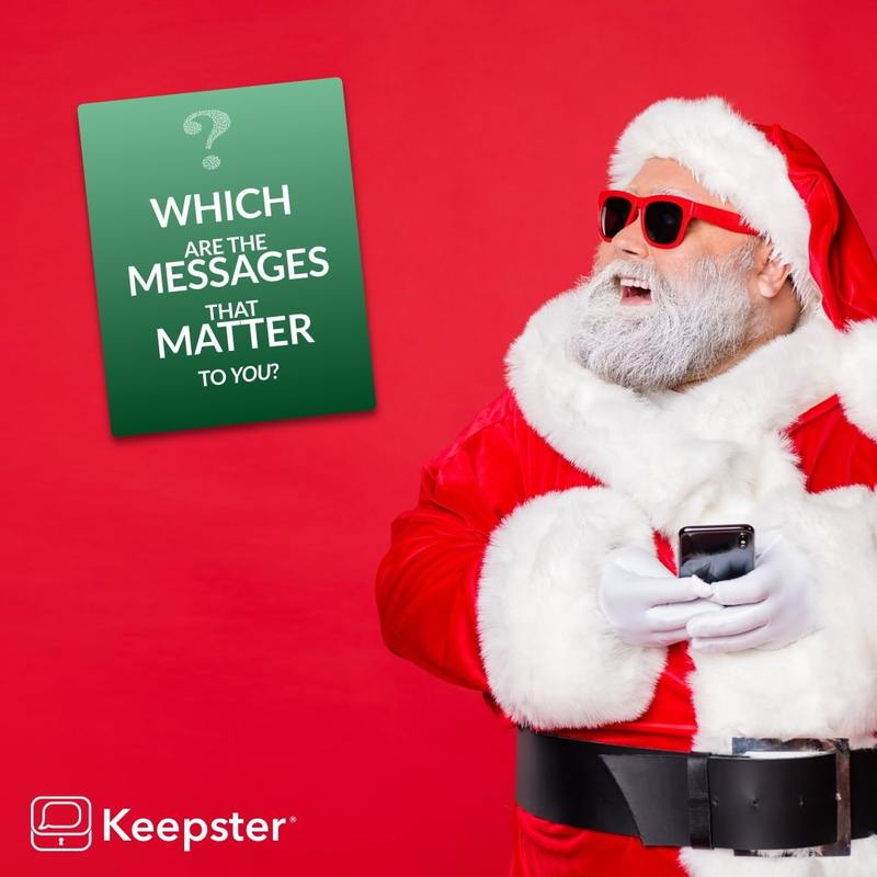 Which are the messages that matter to you? November 2019 Keepster Newsletter