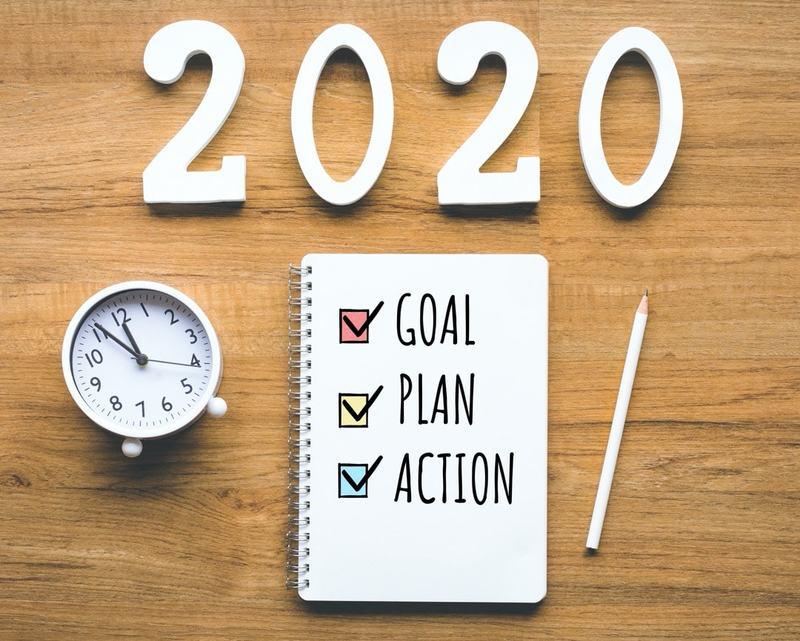 2020 goals, plan, action